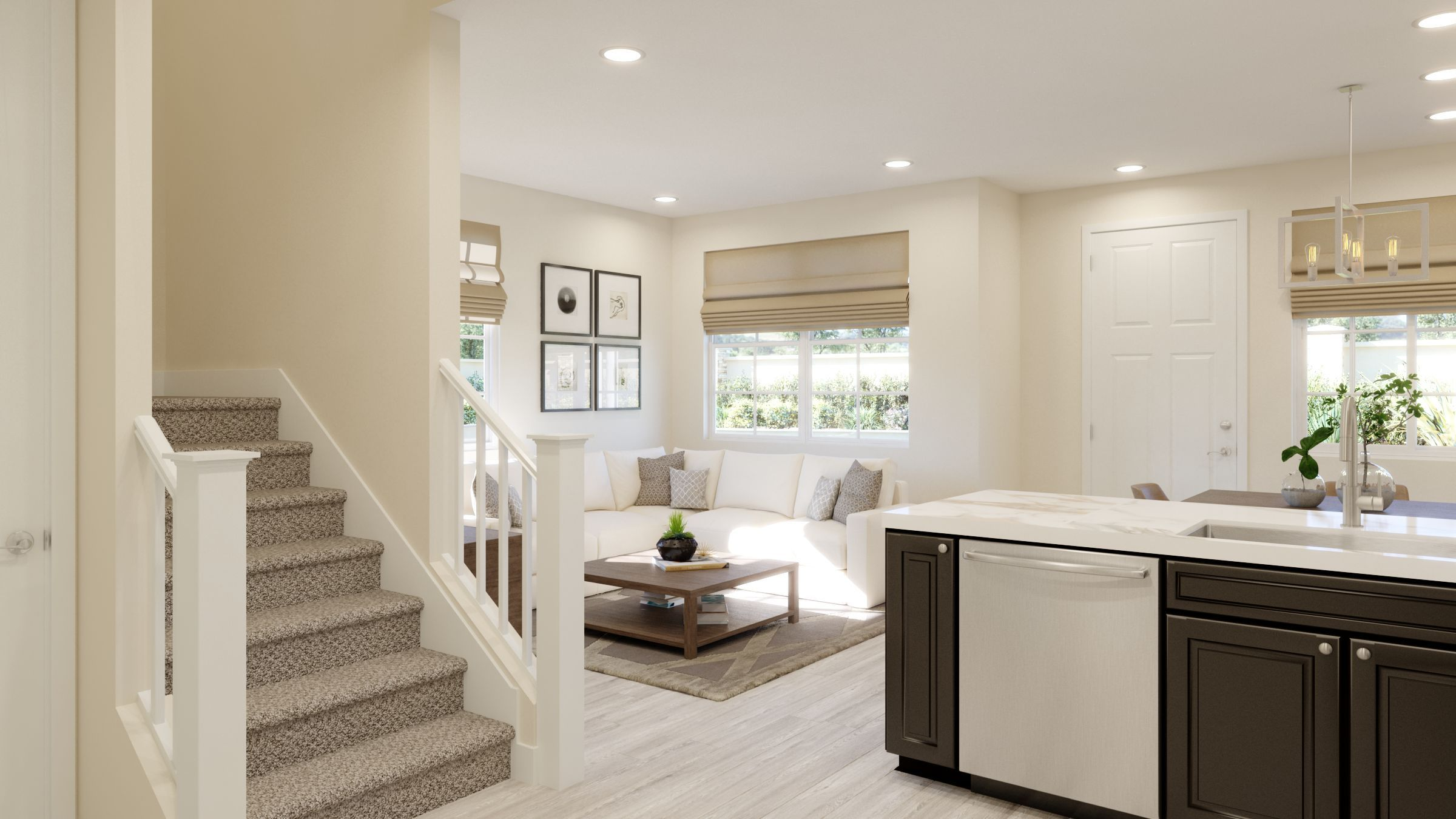 Kitchen featured in the Residence 1 Pear Tree By Taylor Morrison in Vallejo-Napa, CA