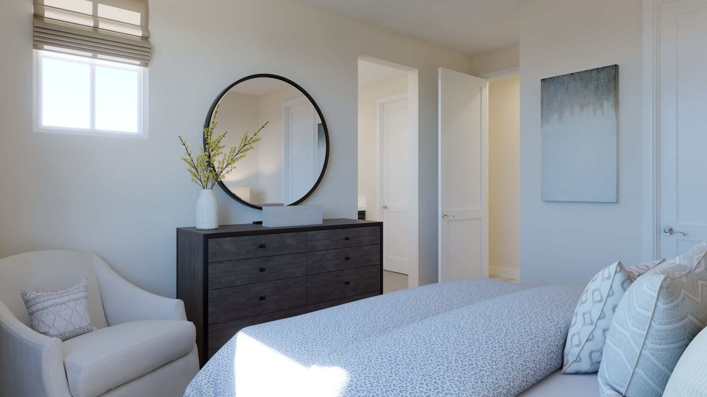 Bedroom featured in the Residence 1 Pear Tree By Taylor Morrison in Vallejo-Napa, CA