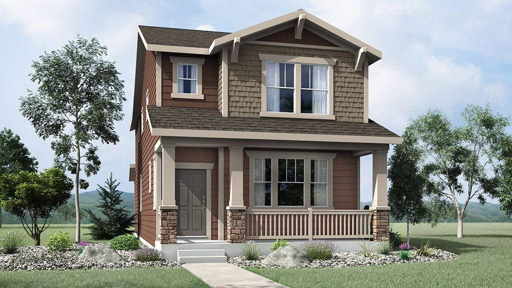 Exterior featured in the Aurora By Taylor Morrison in Denver, CO