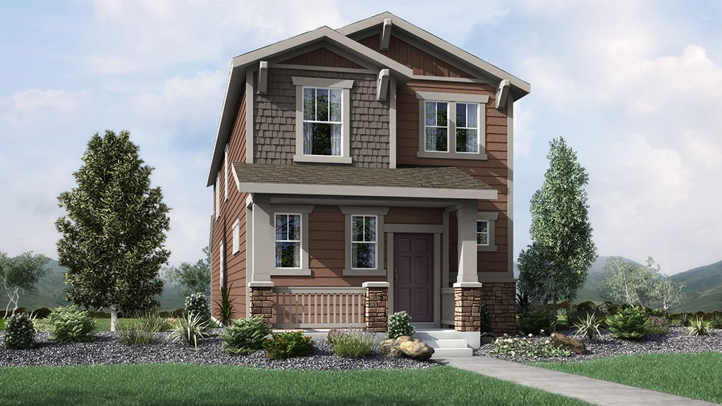Exterior featured in the Stella By Taylor Morrison in Denver, CO