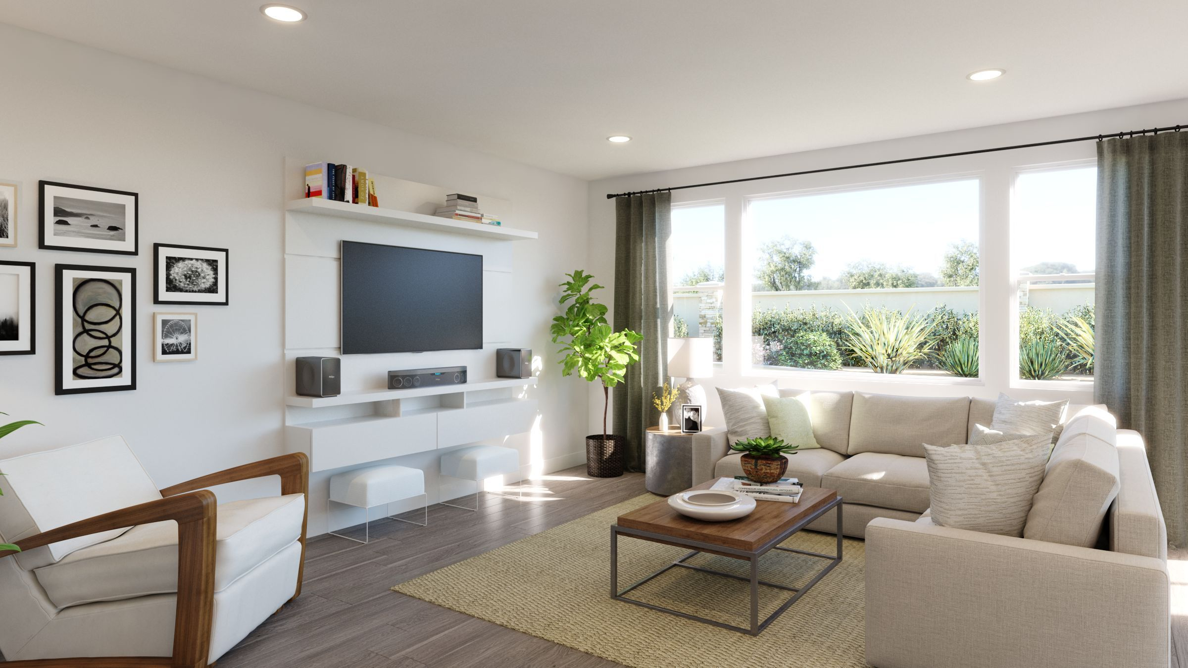 Living Area featured in the Residence 1 Sungold Plan By Taylor Morrison in Stockton-Lodi, CA