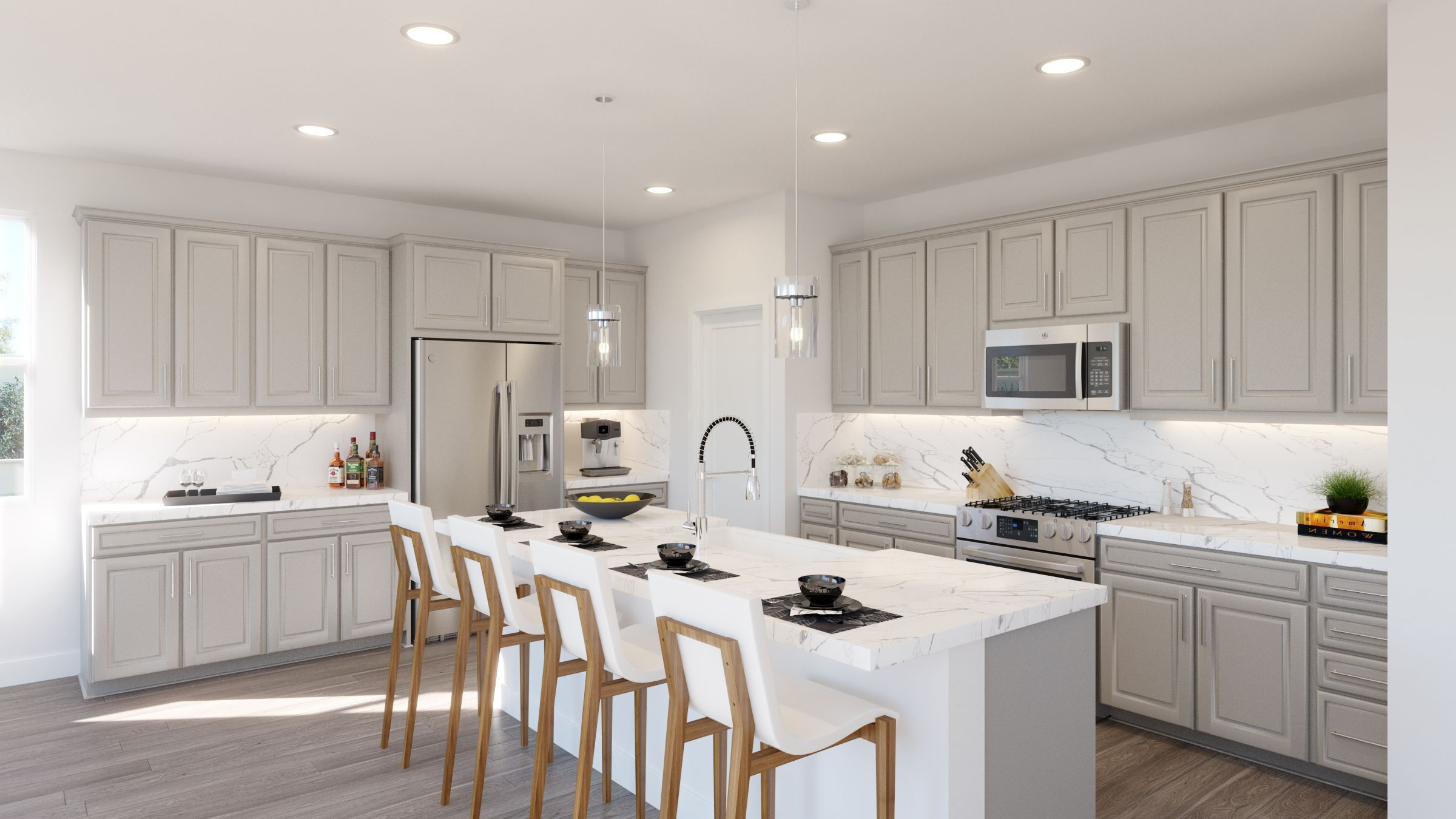 Kitchen featured in the Residence 1 Sungold Plan By Taylor Morrison in Stockton-Lodi, CA