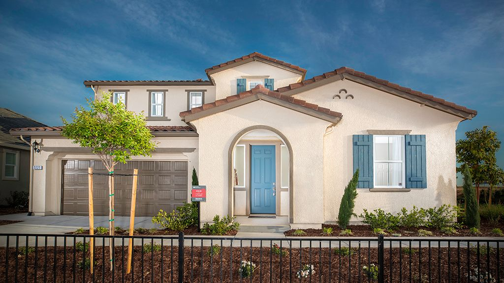 Exterior featured in the Chloe - Plan 4 By Taylor Morrison in Sacramento, CA