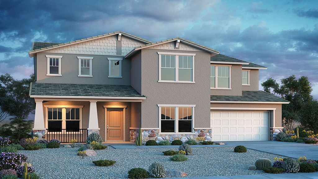 Exterior featured in the Yosemite By Taylor Morrison in Phoenix-Mesa, AZ