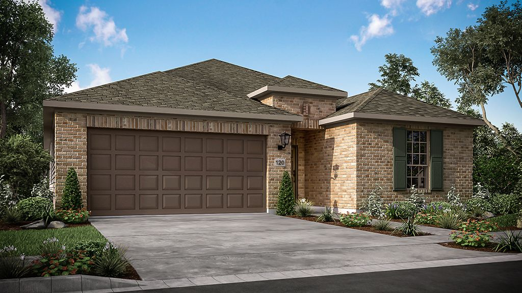 Exterior featured in the Auburn By Taylor Morrison in Austin, TX