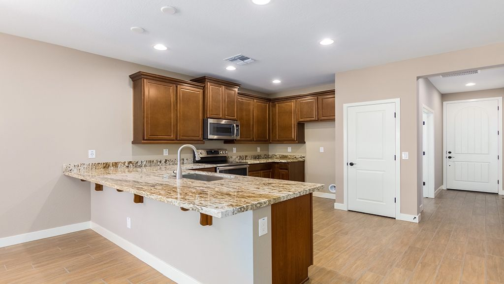 Kitchen featured in the Brixton By Taylor Morrison in Phoenix-Mesa, AZ
