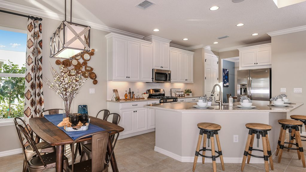 Kitchen featured in the Bonaire By Taylor Morrison in Orlando, FL