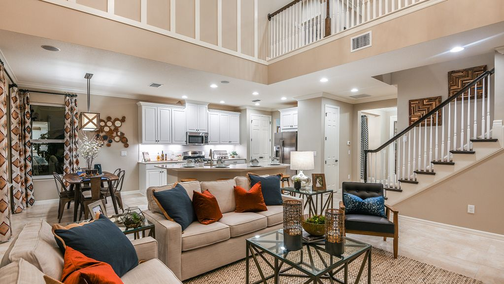 Living Area featured in the Bonaire By Taylor Morrison in Orlando, FL