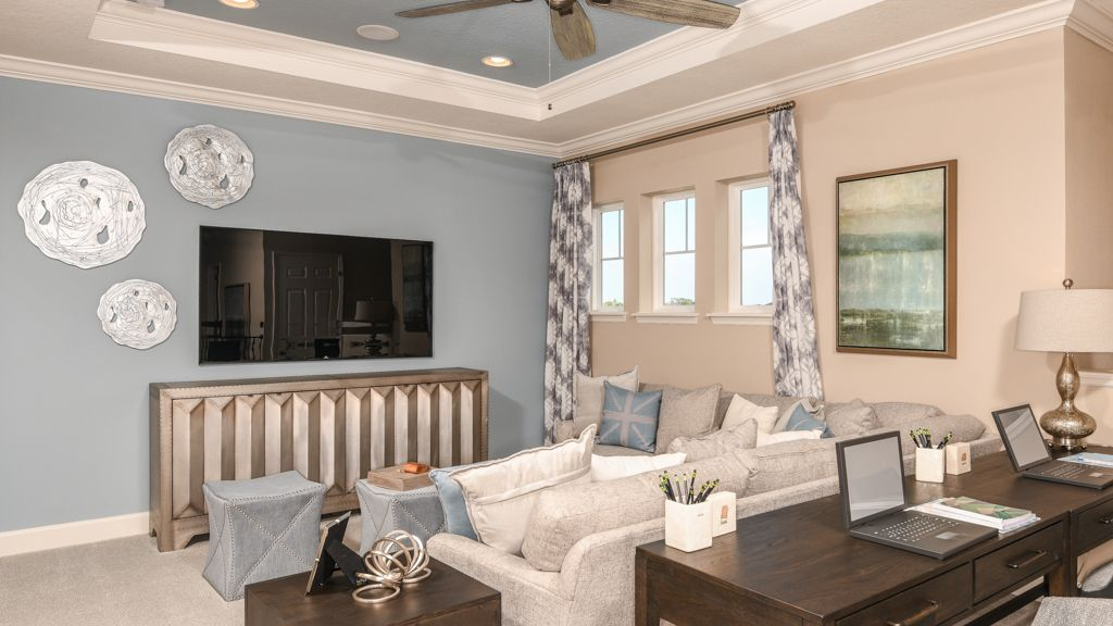 Living Area featured in the Barbados By Taylor Morrison in Orlando, FL