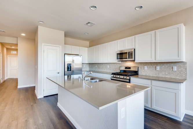 Kitchen featured in the Plan 6 WLH By Taylor Morrison in Las Vegas, NV
