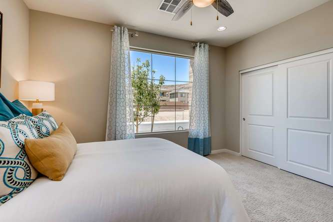 Bedroom featured in the Plan 7 WLH By Taylor Morrison in Las Vegas, NV