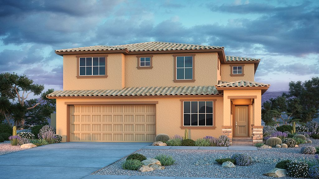 Exterior featured in the Clover By Taylor Morrison in Phoenix-Mesa, AZ