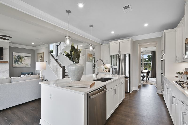 Kitchen featured in the Cambridge By Taylor Morrison in Atlanta, GA
