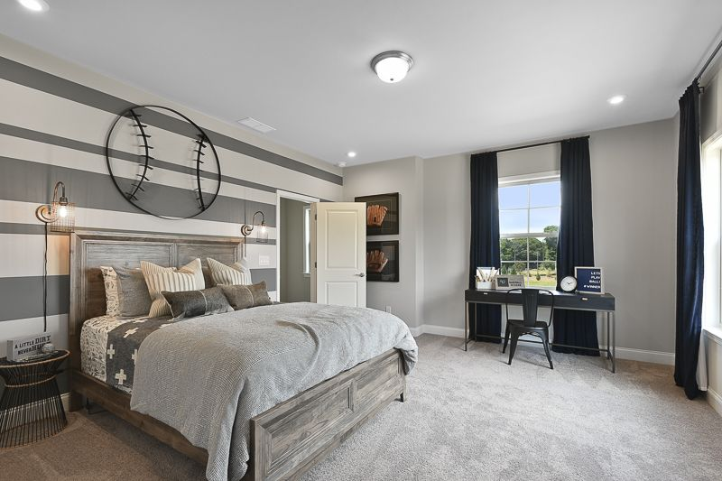 Bedroom featured in the Cambridge By Taylor Morrison in Atlanta, GA