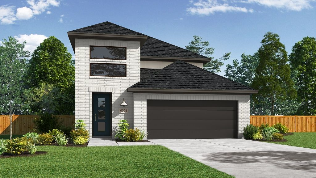 Exterior featured in the 4201 By Darling  Homes in Houston, TX