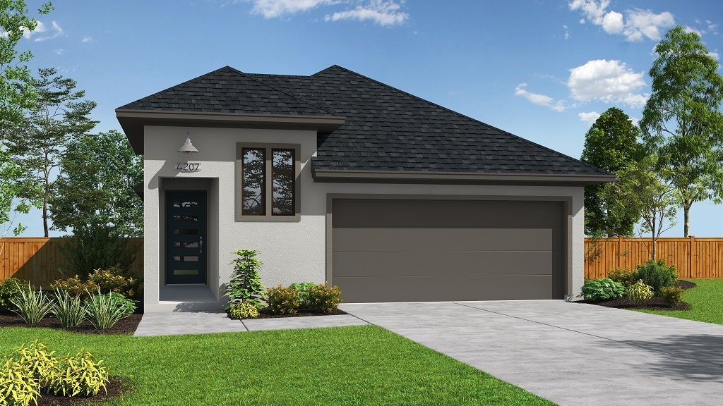 Exterior featured in the 4207 By Darling  Homes in Houston, TX