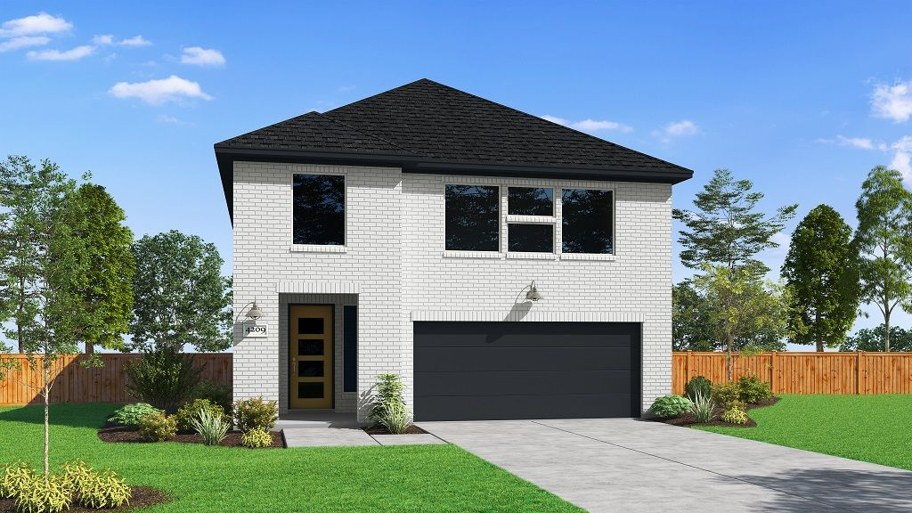 Exterior featured in the 4209 By Darling  Homes in Houston, TX