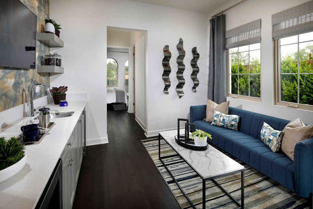 Living Area featured in the Plan 3 By Taylor Morrison in Orange County, CA