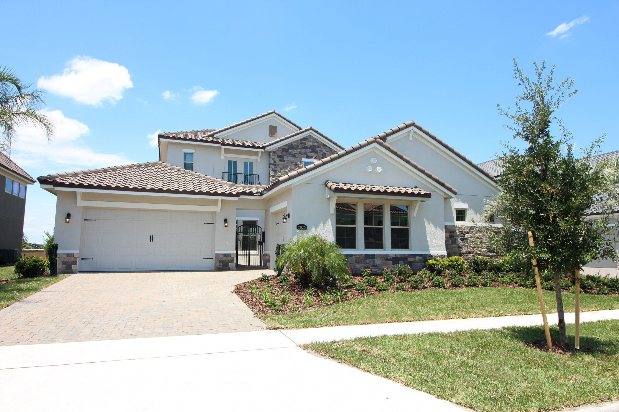 Exterior featured in the Monte Carlo Plan By Taylor Morrison in Orlando, FL