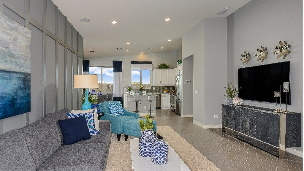 Living Area featured in the Aster By Taylor Morrison in Phoenix-Mesa, AZ