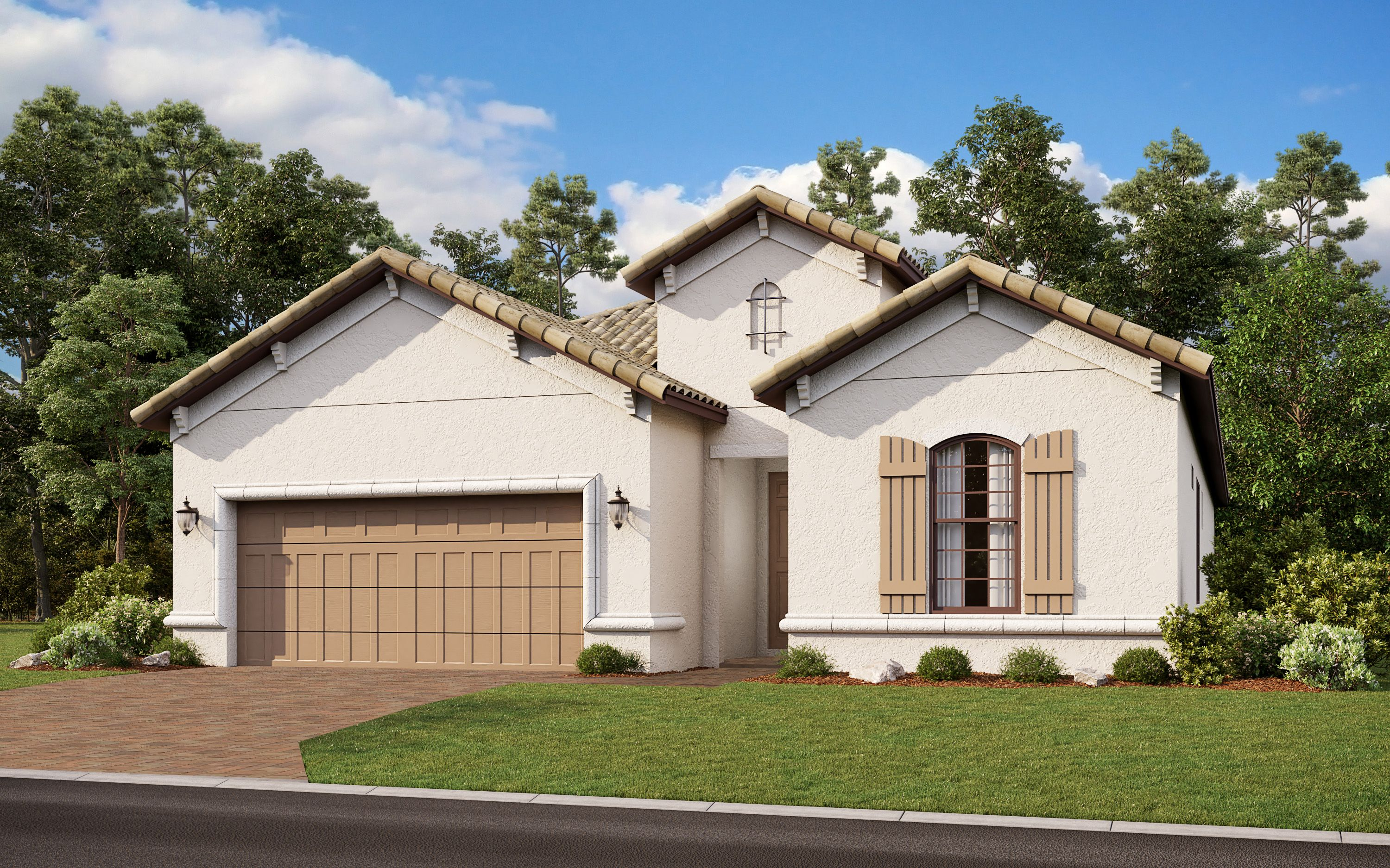 Exterior featured in the Azzurro By Taylor Morrison in Naples, FL