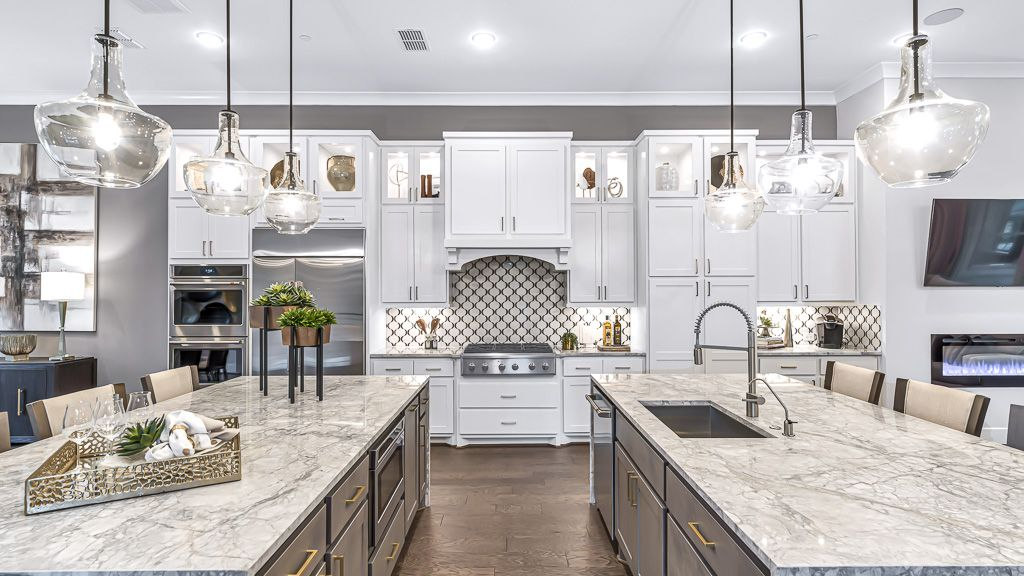 Kitchen featured in the 1351 - 3 Story By Darling  Homes in Houston, TX