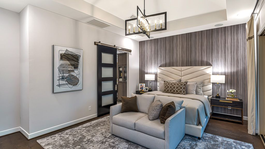 Bedroom featured in the 1351 - 3 Story By Darling  Homes in Houston, TX