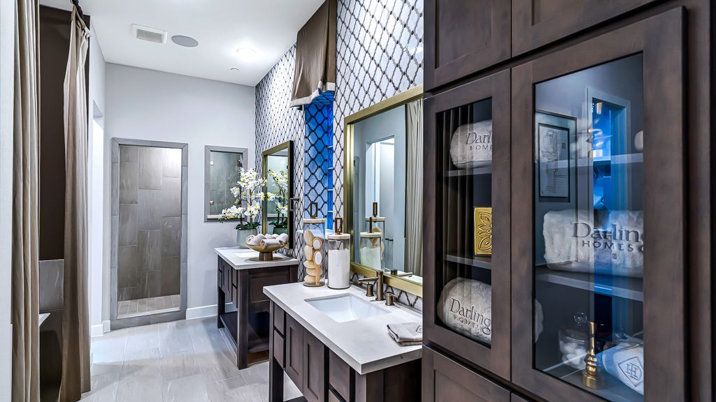 Bathroom featured in the 1351 - 3 Story By Darling  Homes in Houston, TX