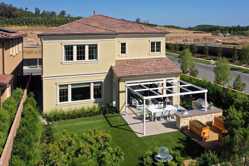 Exterior featured in the Plan 3 By Taylor Morrison in Orange County, CA
