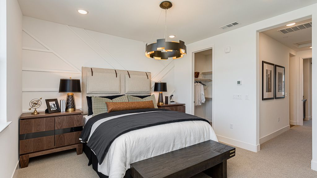 Bedroom featured in the Condo Plan 2 By Taylor Morrison in San Jose, CA