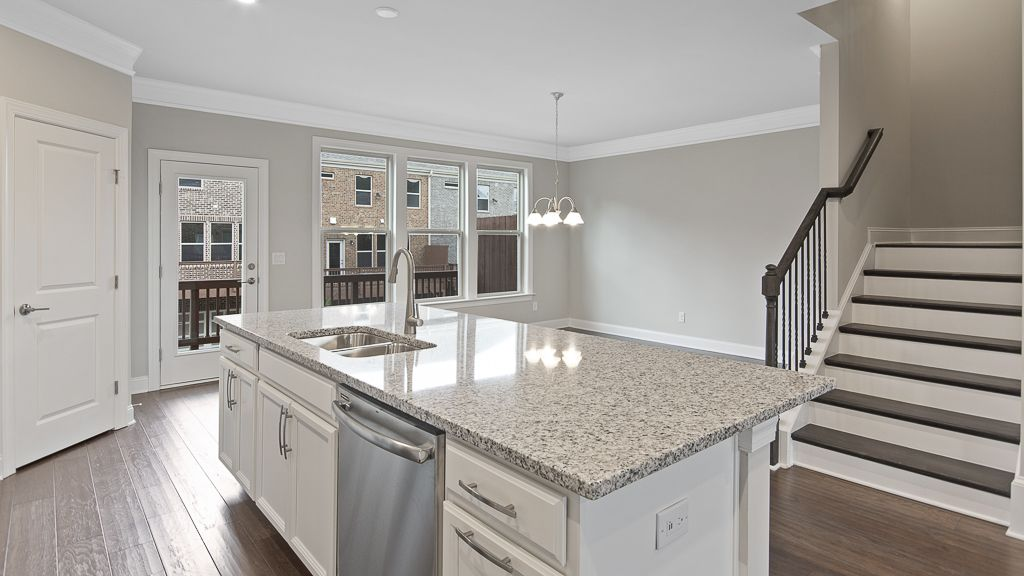 Kitchen featured in the Yosemite By Taylor Morrison in Atlanta, GA