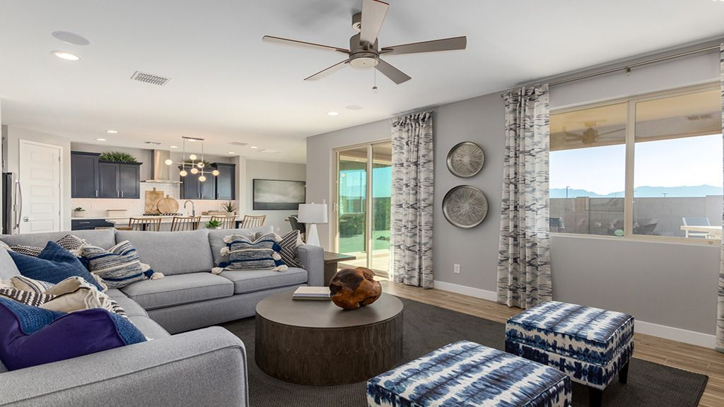 Living Area featured in the Clover By Taylor Morrison in Phoenix-Mesa, AZ