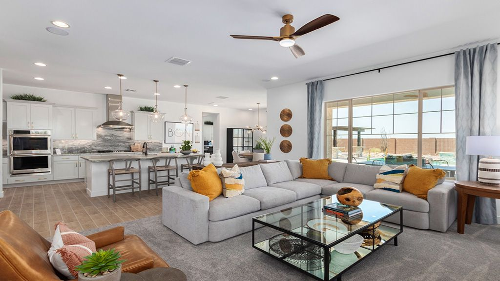 Living Area featured in the Denali By Taylor Morrison in Phoenix-Mesa, AZ