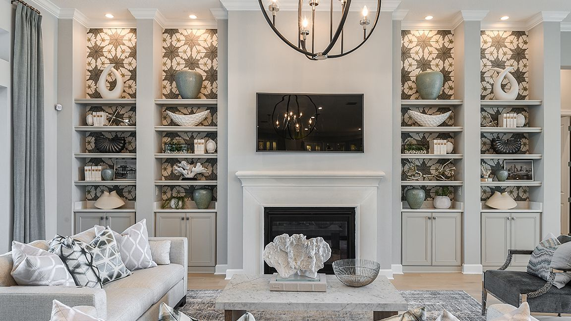 Living Area featured in the Beacon By Taylor Morrison in Tampa-St. Petersburg, FL