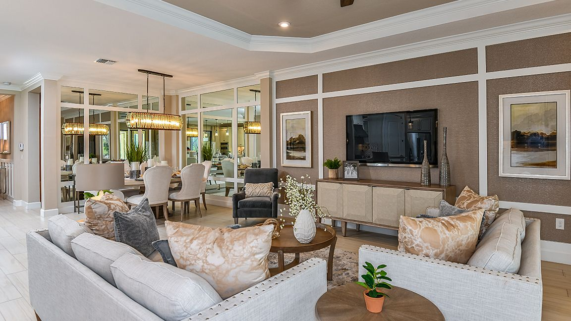 Living Area featured in the Lazio By Taylor Morrison in Tampa-St. Petersburg, FL