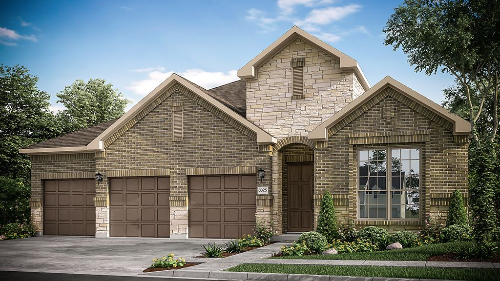 Exterior featured in the Alder By Taylor Morrison in Houston, TX