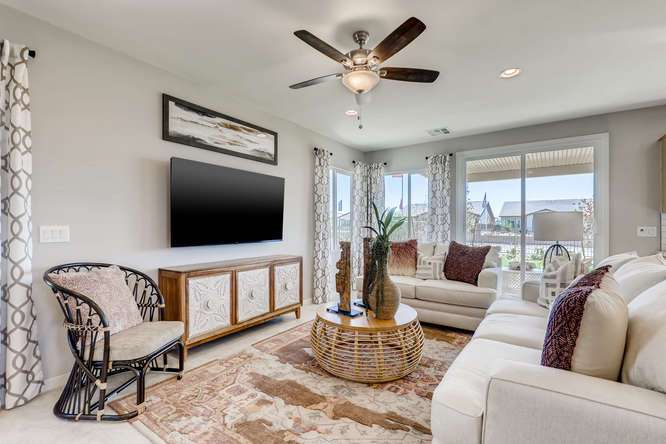 Living Area featured in the Acacia Plus By Taylor Morrison in Las Vegas, NV