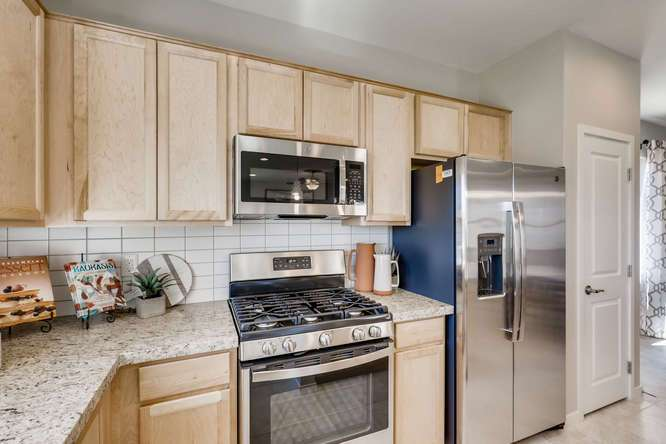 Kitchen featured in the Acacia Plus By Taylor Morrison in Las Vegas, NV