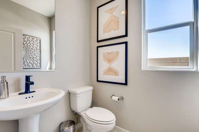 Bathroom featured in the Acacia Plus By Taylor Morrison in Las Vegas, NV