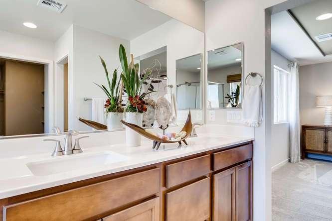 Bathroom featured in the 25 - Cedar By Taylor Morrison in Las Vegas, NV