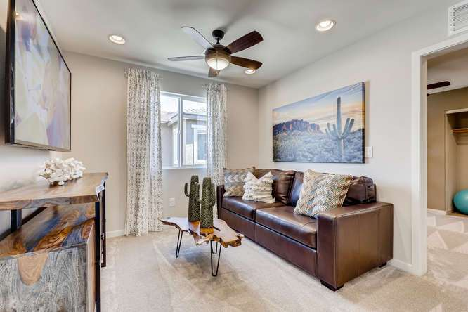 Living Area featured in the 25 - Cedar By Taylor Morrison in Las Vegas, NV
