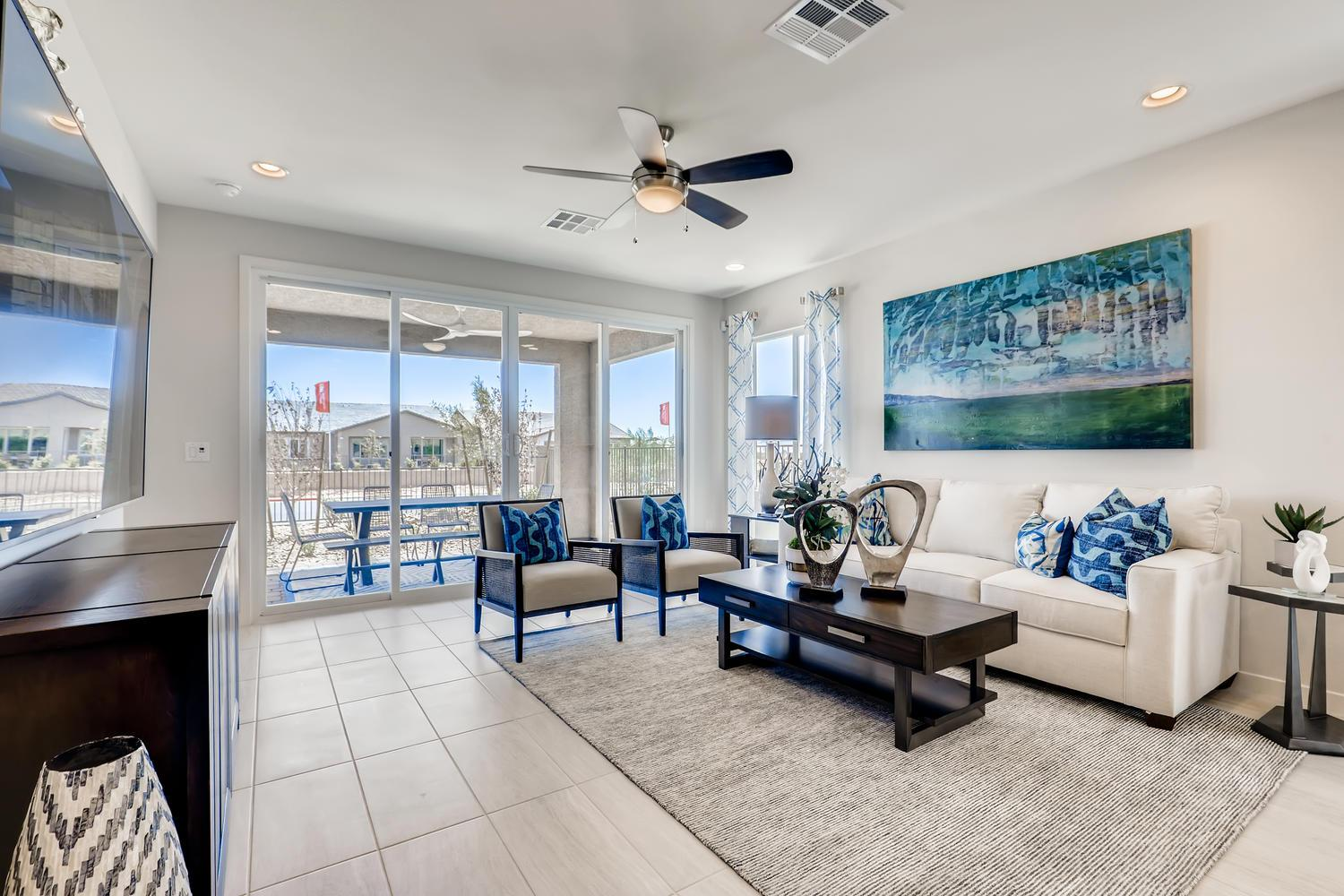 Living Area featured in the 30 - Holly By Taylor Morrison in Las Vegas, NV