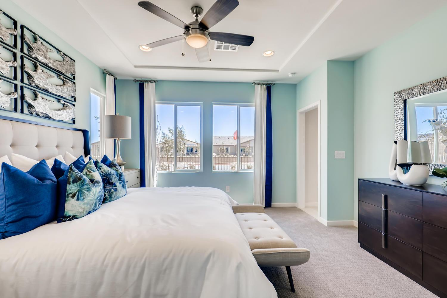Bedroom featured in the 30 - Holly By Taylor Morrison in Las Vegas, NV