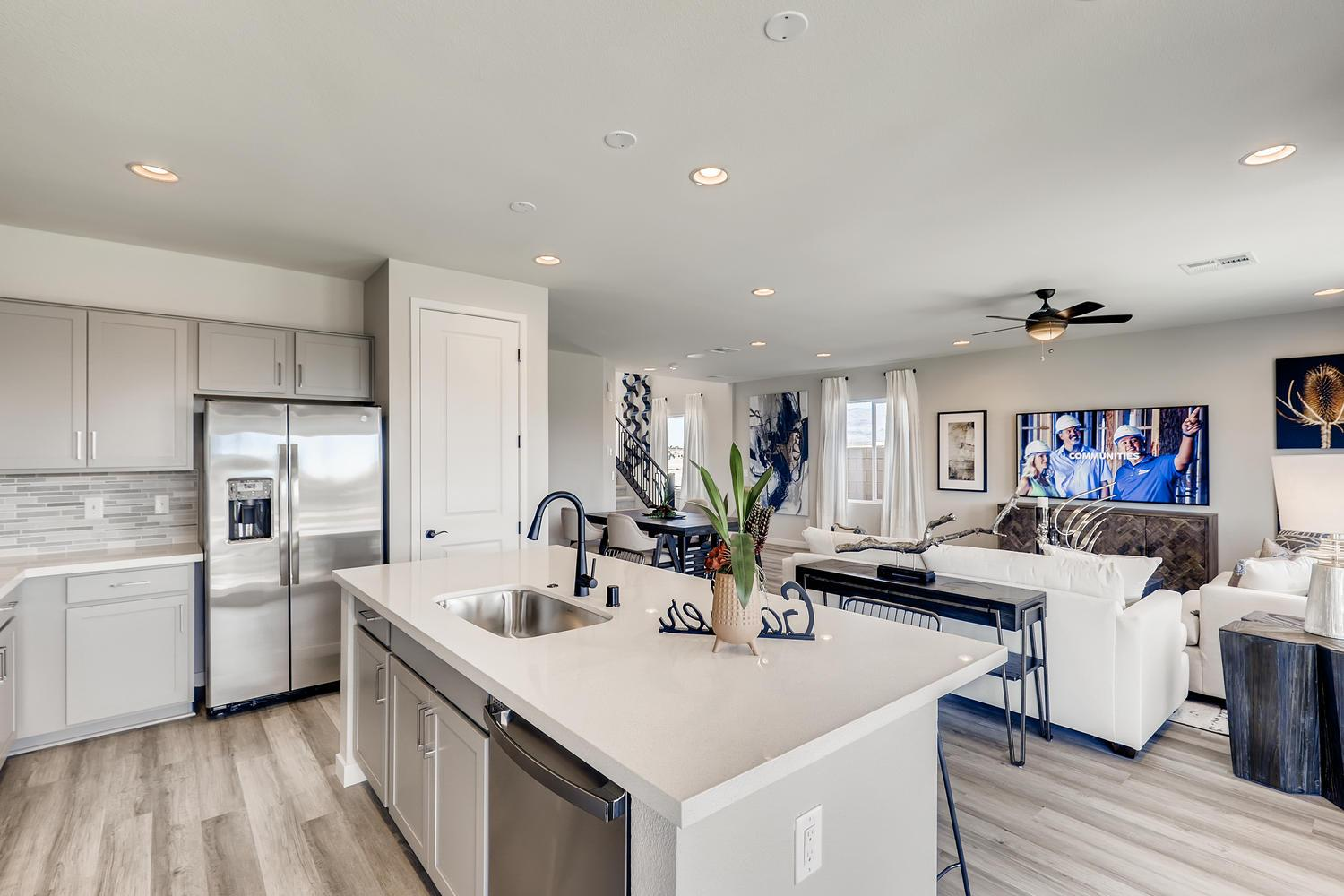 Kitchen featured in the 30 - Magnolia By Taylor Morrison in Las Vegas, NV