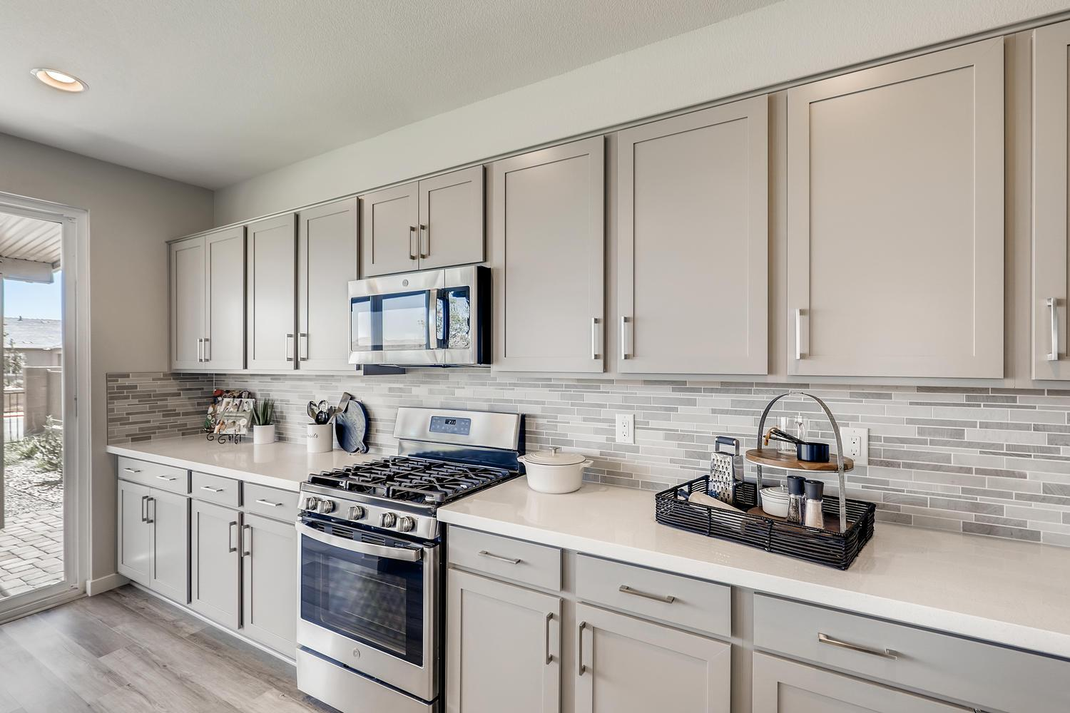Kitchen featured in the Magnolia at Silverleaf By Taylor Morrison in Las Vegas, NV