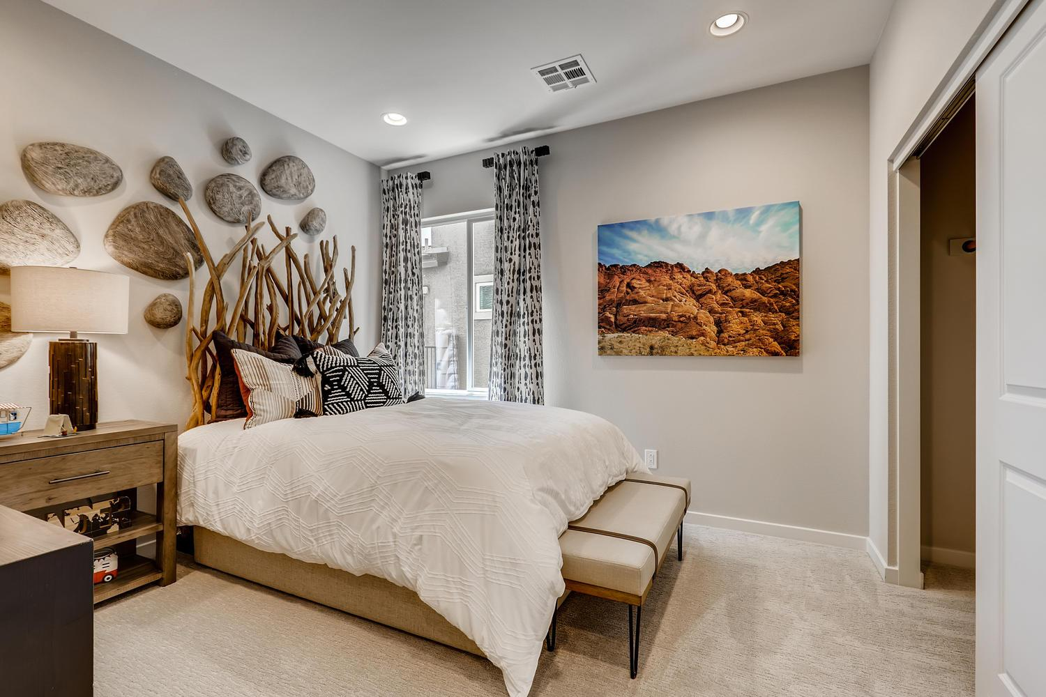 Bedroom featured in the Magnolia at Silverleaf By Taylor Morrison in Las Vegas, NV