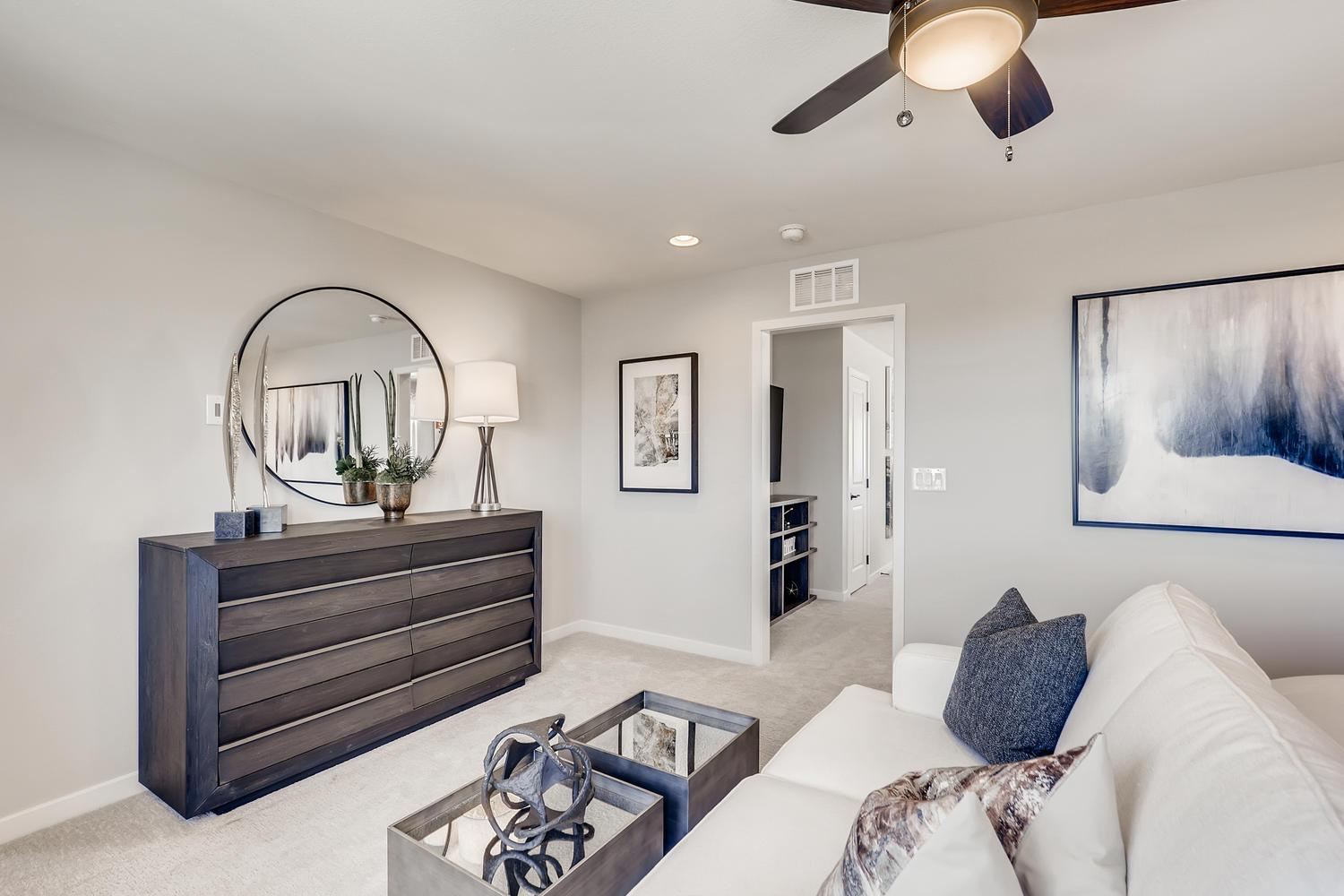 Living Area featured in the Magnolia at Silverleaf By Taylor Morrison in Las Vegas, NV