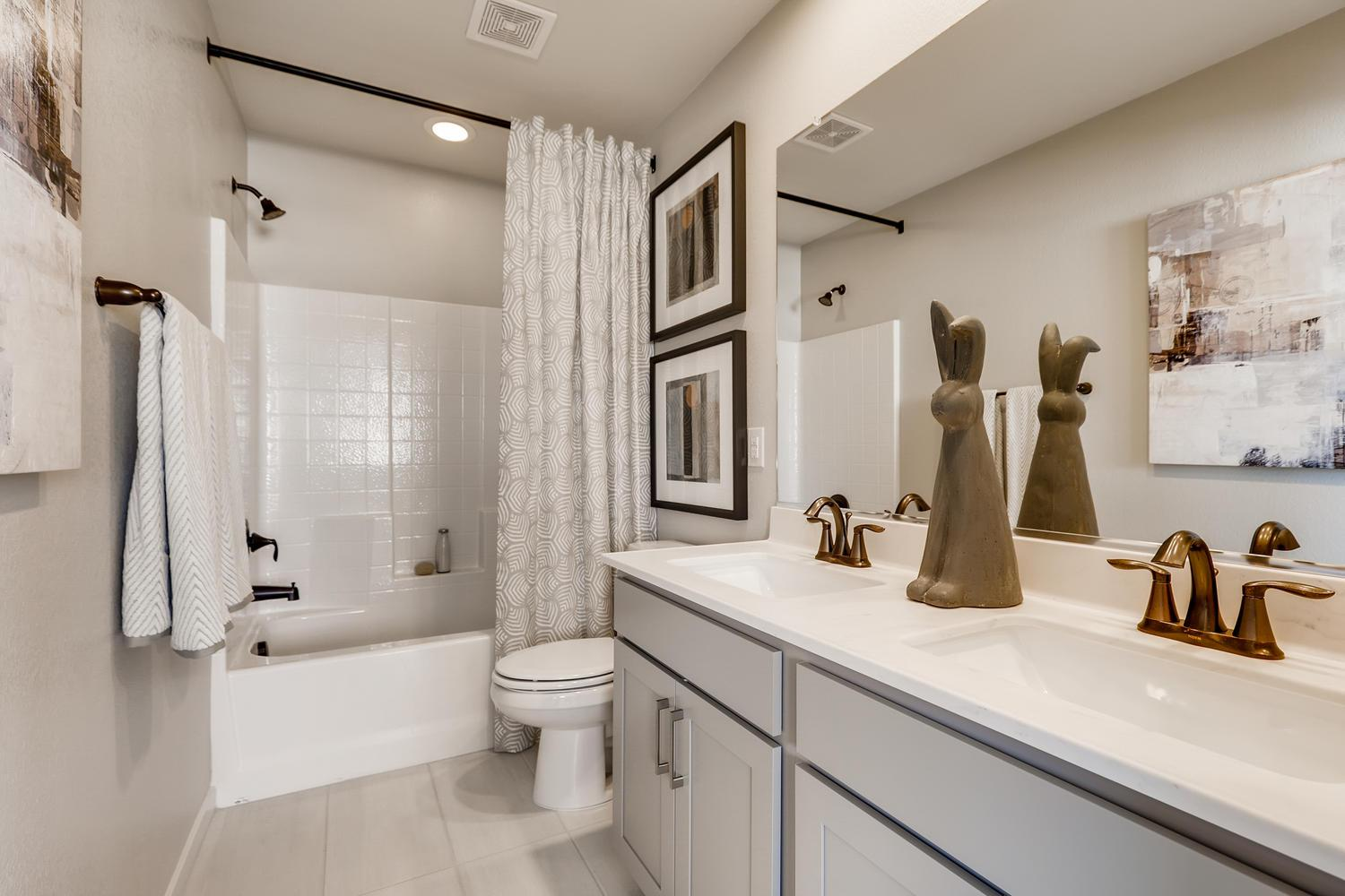 Bathroom featured in the Magnolia at Silverleaf By Taylor Morrison in Las Vegas, NV
