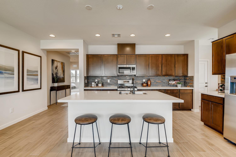 Kitchen featured in the 40 - Azalea By Taylor Morrison in Las Vegas, NV