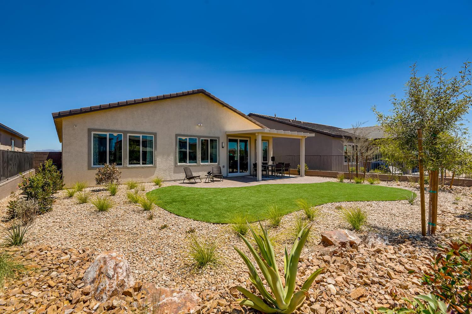 Exterior featured in the 40 - Azalea By Taylor Morrison in Las Vegas, NV
